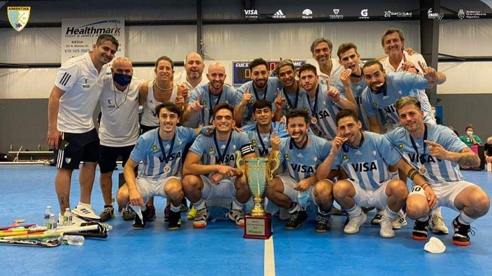 Hockey Pista: deportistas santacruceños se consagraron campeones Panamericanos obteniendo el pase al mundial de Bélgica