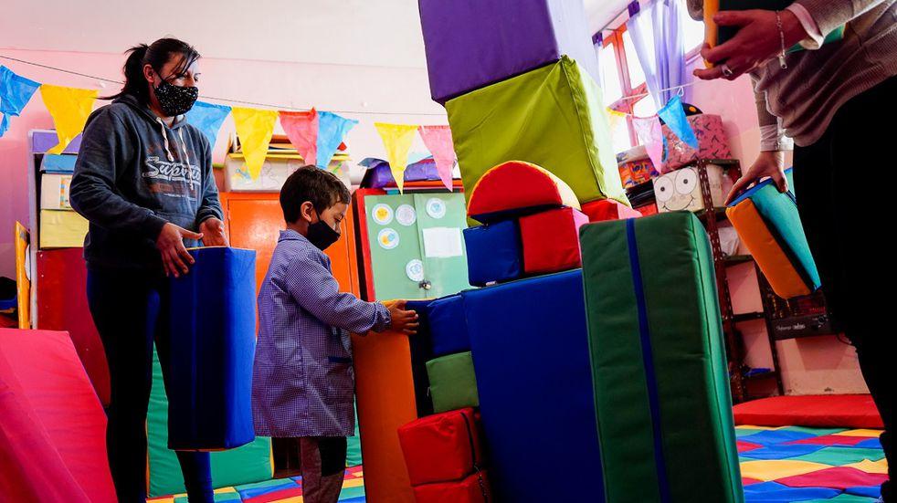 El primer Centro de Educación Temprana del interior del país está en Las Heras
