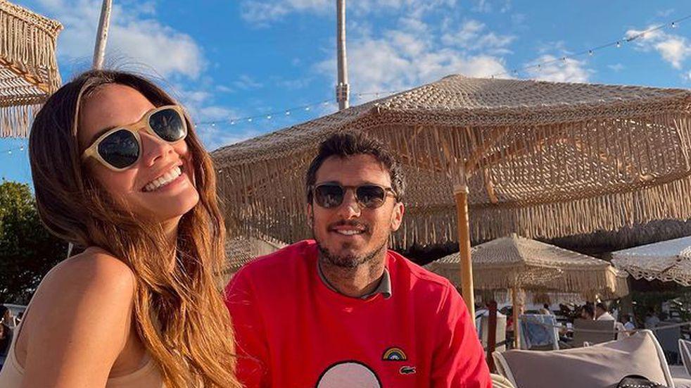Pico Monaco confirmó que será padre junto a Diana Arnopoulos