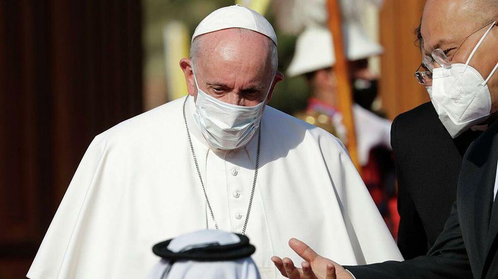 Al cumplirse 10 años del inicio de la guerra, el Papa Francisco rezó por Siria