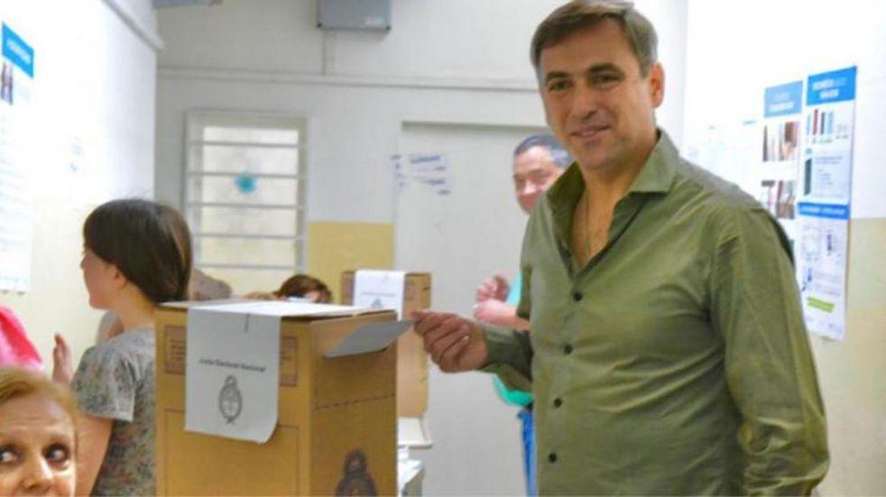 """Votó Ramón Mestre: """"Le deseo el mayor de los éxitos al nuevo intendente"""""""