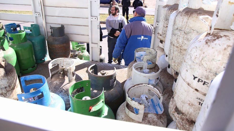 Entre el martes y el viernes estara el camión de la garrafa a $300 en San Rafael y Malargüe