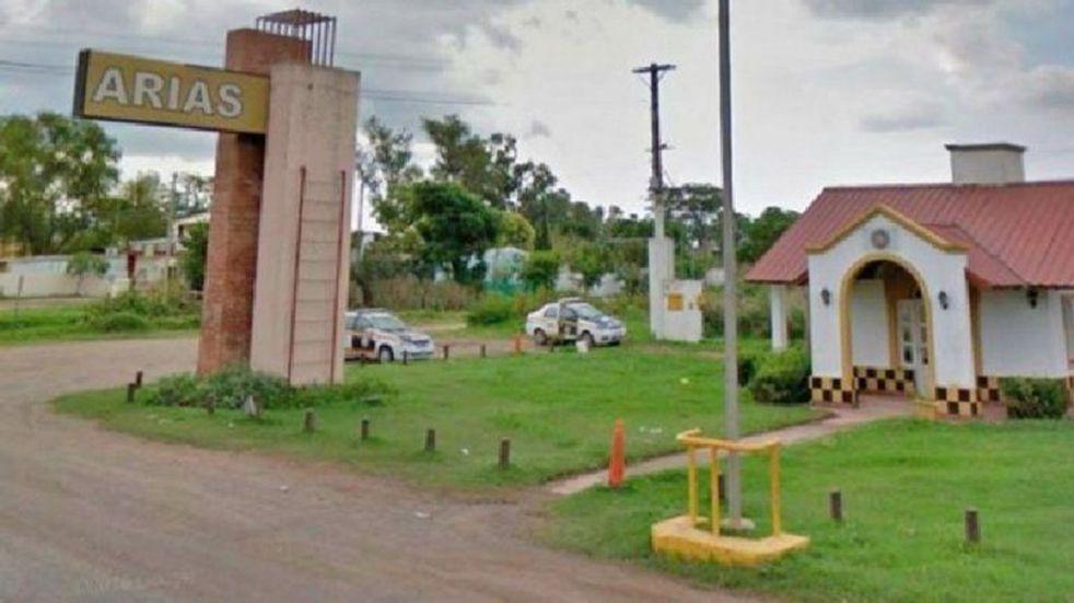 Arias: instalan puesto sanitario en el límite con Santa Fe