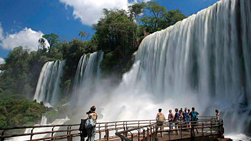 Las Cataratas del Iguazú cerraron un enero positivo en cuanto a las visitas