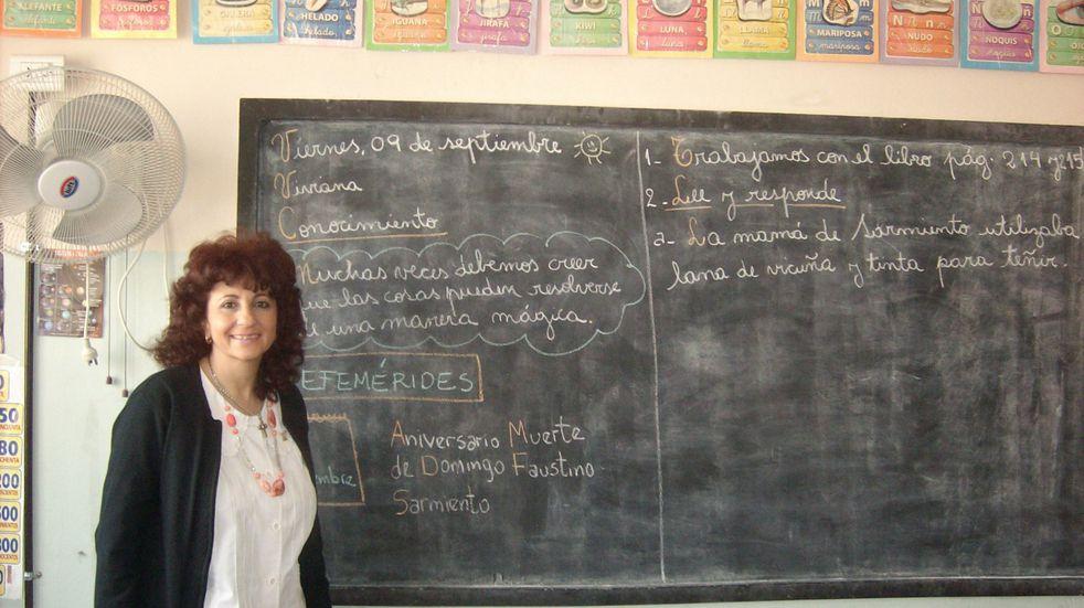 Viviana Levy, la docente maipucina que le dedicó 32 años de su vida a enseñar con amor