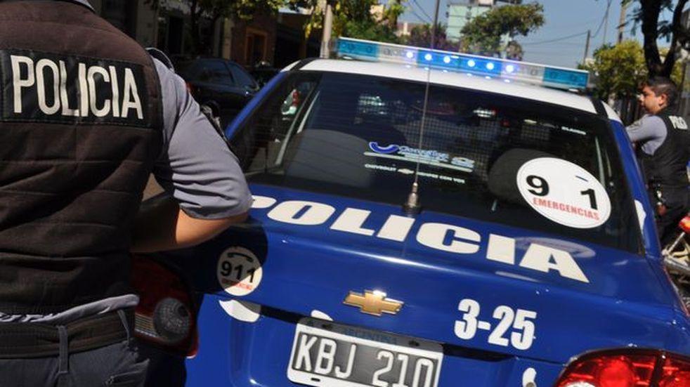 Patrullero de la Policía de Misiones.