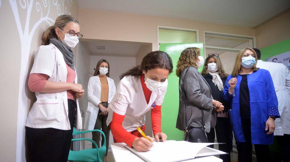 El Hospital Saporiti de Rivadavia ya cuenta con un Centro de Lactancia Materna