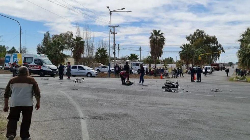 Atropellaron a Nicolás Traico y Marcos León Rodríguez, ciclistas profesionales del SEP