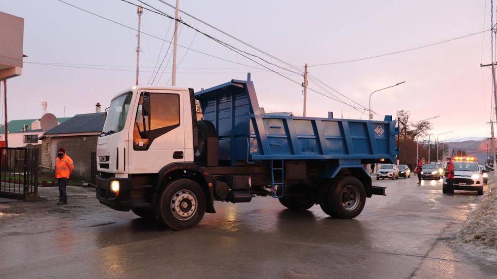 El Municipio adquirió dos camiones volcadores