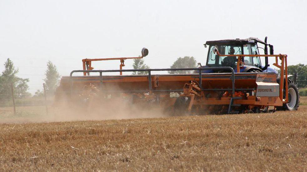 La siembra y fertilización combinadas con rastras