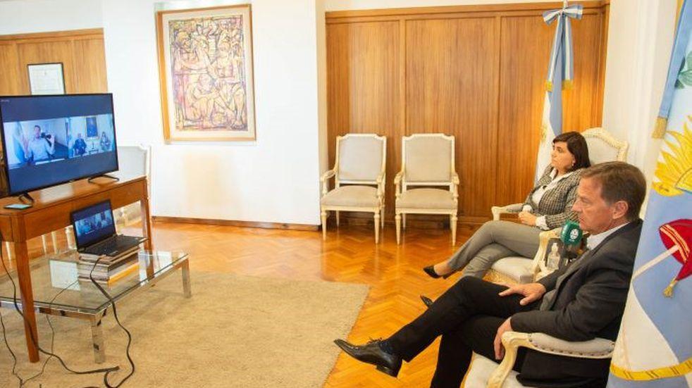 Suarez y Nación firmaron un convenio para poner en valor distintos puntos turísticos