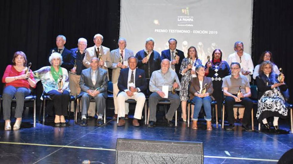 En la Feria del Libro de La Pampa se entregaron los Premios Testimonio 2019