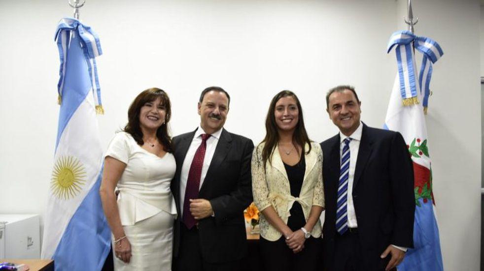 """Inés Brizuela: """"creo en los riojanos para salir adelante"""""""