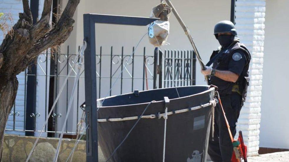 Puerto Belgrano: la Brigada de Explosivos cumple 41 años