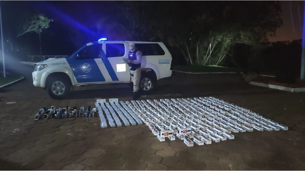Prefectura Naval logró desmantelar un cargamento de mercadería ilegal en Puerto Iguazú