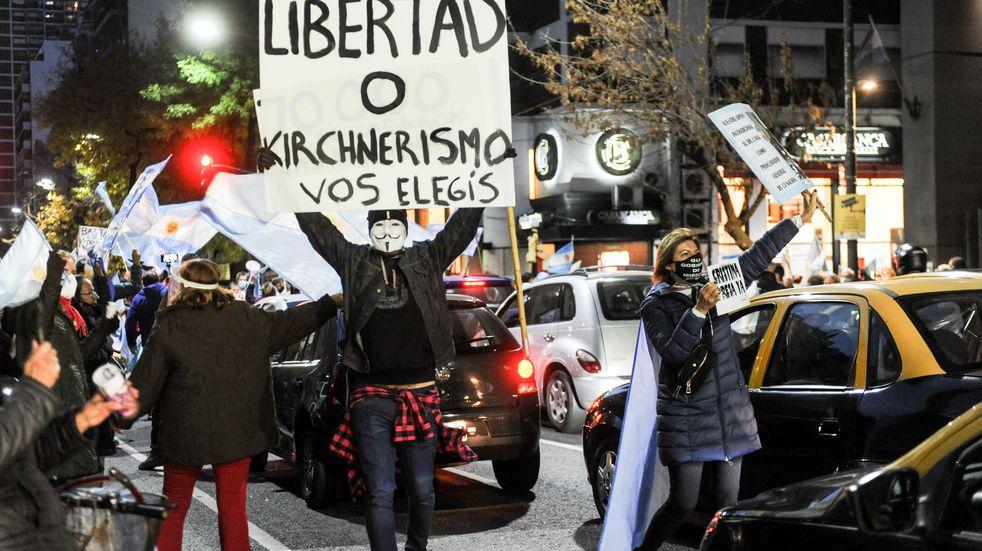 Cacerolazo en contra de la reforma del Ministerio Público Fiscal