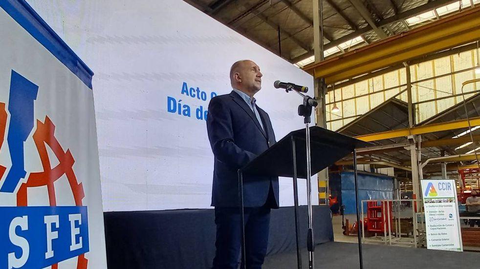 Omar Perotti dijo que Santa Fe motorizó el 25% de las exportaciones este año