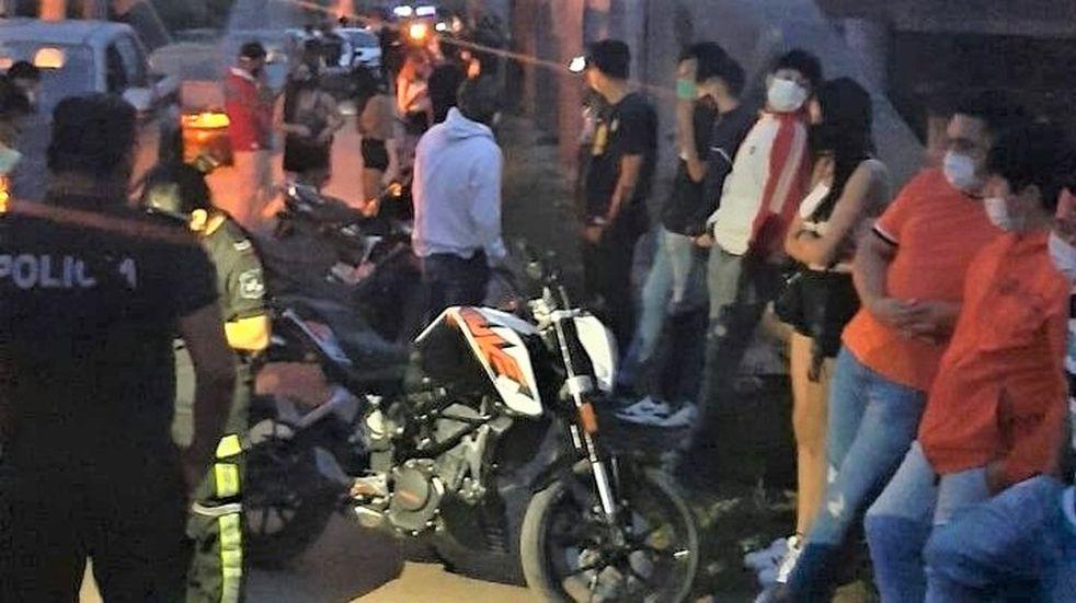 Decenas de jóvenes fueron atrapados por la Policía de Jujuy en fiestas clandestinas