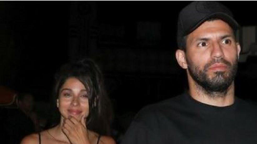 Sergio Agüero se mostró con su nueva novia