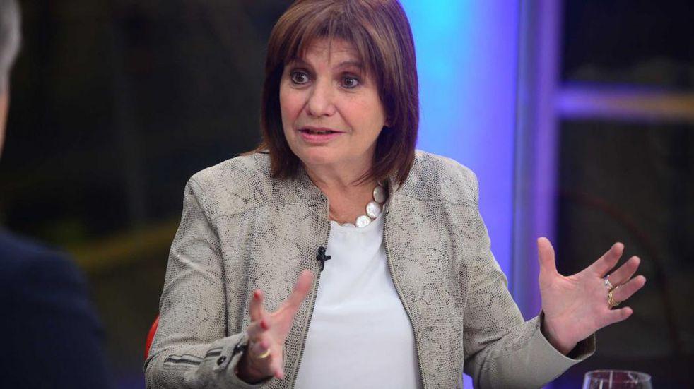Patricia Bullrich también presentará un amparo en contra de las nuevas medidas