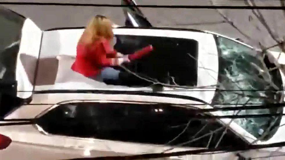 Detenida por romper camioneta con matafuegos era pareja de abogado de Santa Fe