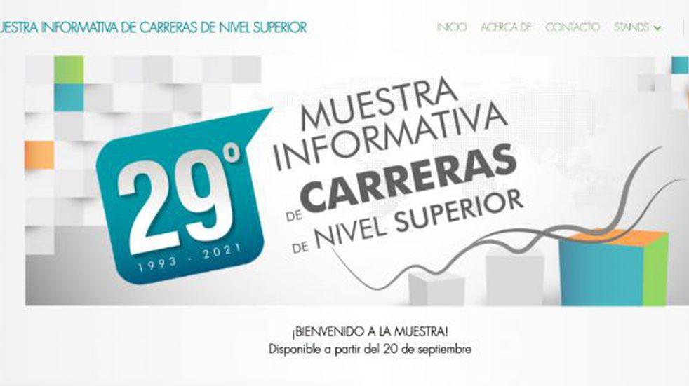 Del 20 al 23 de septiembre se realizará la 29° Muestra de Carreras.