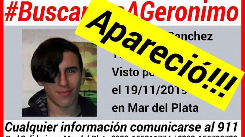 Fue encontrado el adolescente de 15 años que llevaba 24 horas sin aparecer