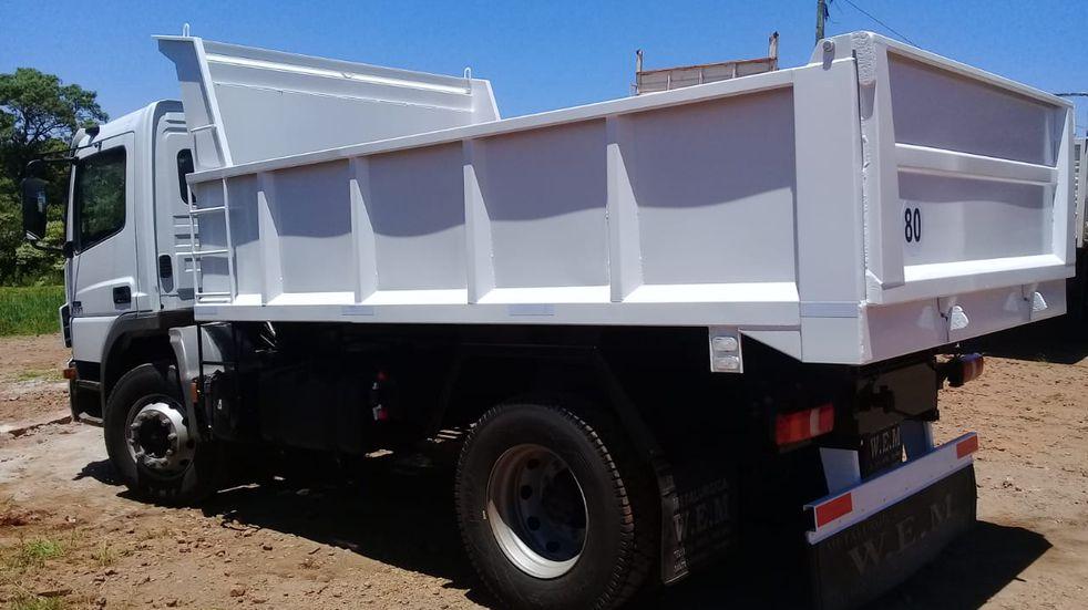 El municipio de Campo Ramón contará con un nuevo camión volcador
