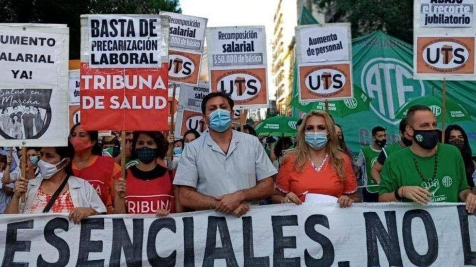 Martes con asambleas de los trabajadores de la salud de toda la provincia de Córdoba
