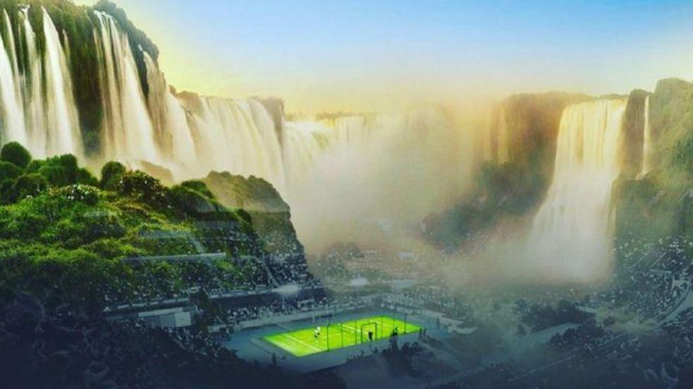 Cuestionan a Parques Nacionales por el Padel en Cataratas del Iguazú
