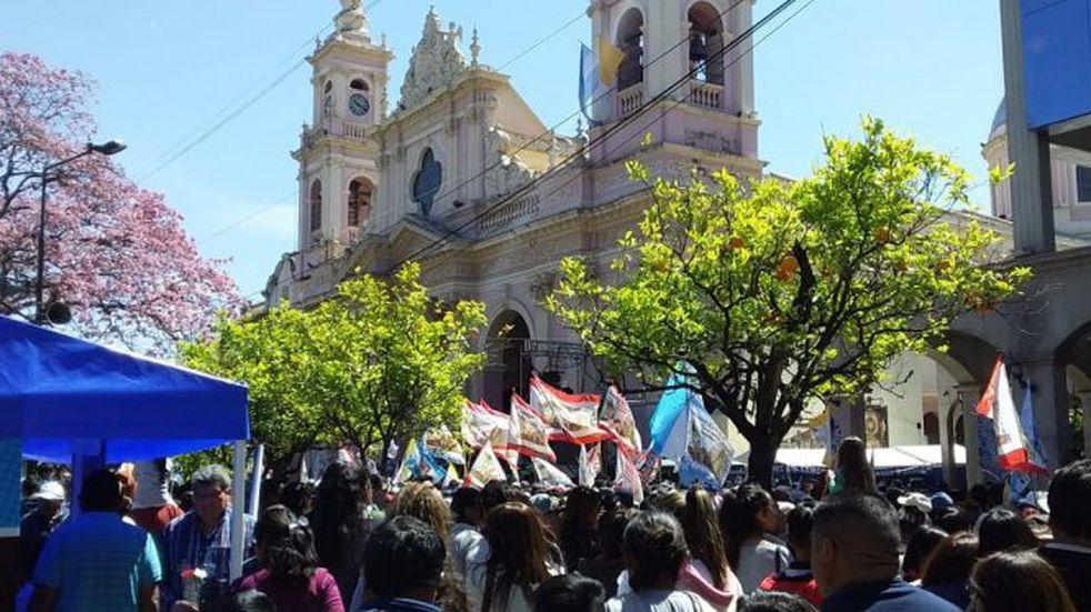 Milagro en Salta: analizan que la procesión sea en autos y con poca gente