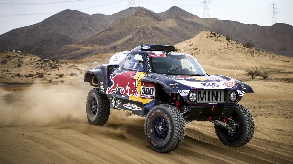 Dakar: Sainz y Price ganaron la Etapa 1