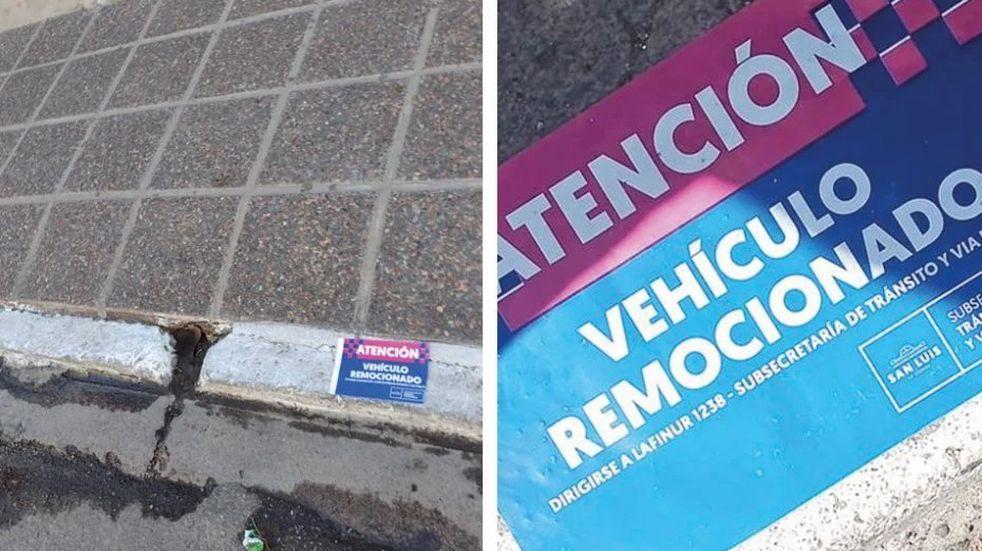 Cuestionan al Municipio de San Luis por remover vehículos estacionados en zonas habilitadas