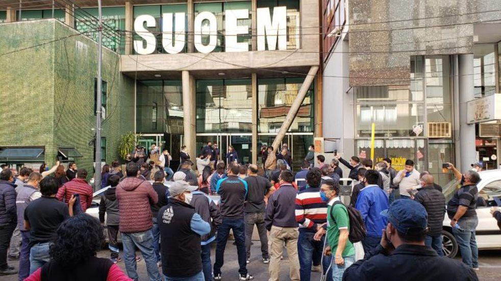 El Suoem adoptó medidas de fuerza en los centros de salud municipales