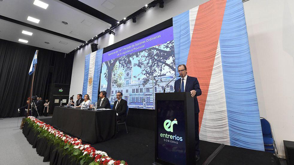 Gustavo Bordet dirigirá su mensaje anual a la Asamblea Legislativa este lunes