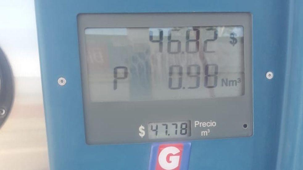 Sirvió el reclamo: bajó $6 el precio del GNC en Rafaela