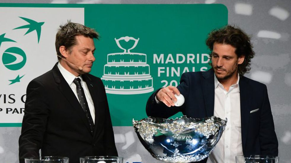 Argentina compartirá grupo con Alemania y Chile en la renovada Copa Davis
