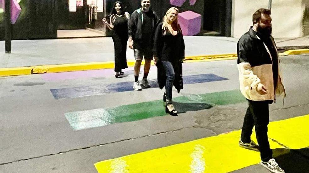 La puesta en valor de la primera senda peatonal de la Diversidad de Mendoza. Gobierno de Mendoza