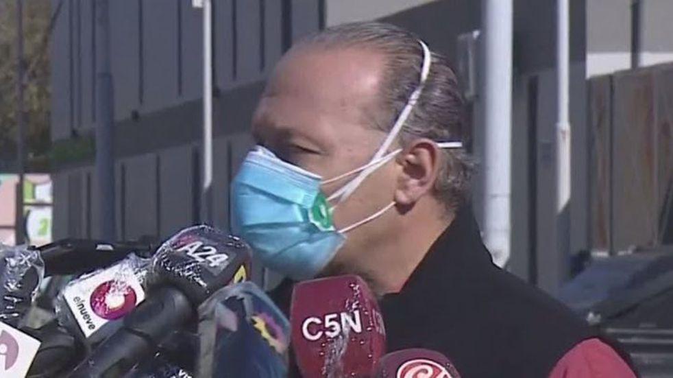 """Sergio Berni, sobre el último prófugo detenido por el asalto al jubilado en Quilmes: """"Es una persona peligrosa"""""""