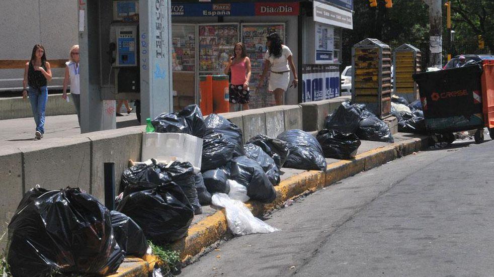 Este sábado no hay recolección de basura en Córdoba. (Raimundo Viñuelas/La Voz).