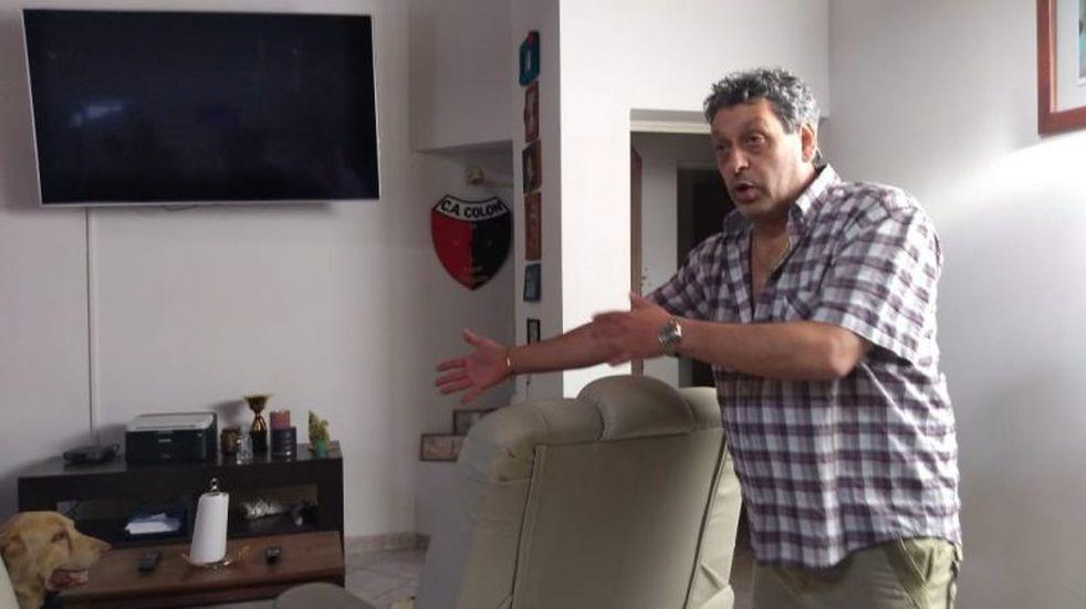 Balearon la casa de un abogado ligado a Colón de Santa Fe