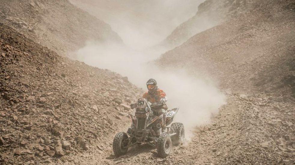 Gallego sigue 3ro cuando faltan 3 etapas para terminar el Dakar