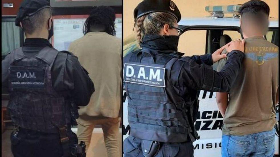 Varios individuos fueron detenidos por robo en Posadas
