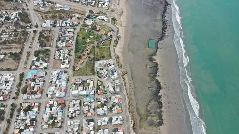 Se viralizaron fotos inéditas de las playas de Las Grutas