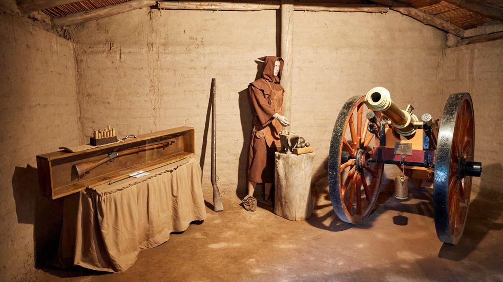 Campo Histórico: ofrecen una invalorable muestra de museográfica en Las Heras