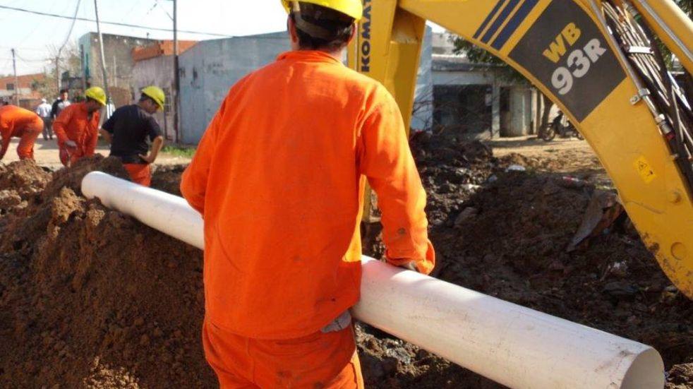 Una nueva construcción cloacal beneficiará a 408 familias de San Martín