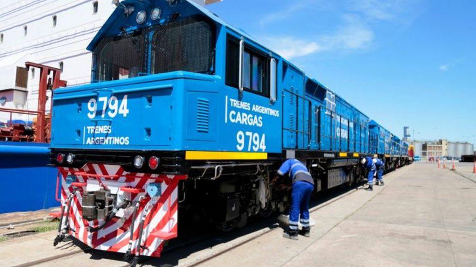 En tres días, el Belgrano Cargas transportó 100 vagones desde Salta a Santa Fe