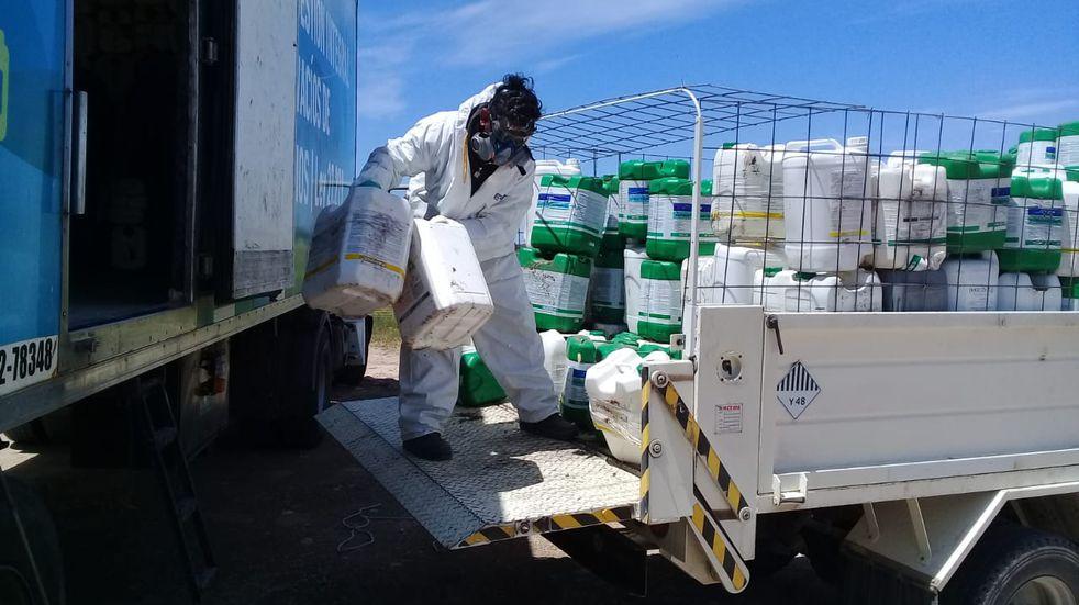 Segunda campaña de recepción de envases fitosanitarios