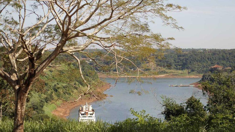 Por la bajante del Iguazú, otra vez la ciudad con problemas de agua