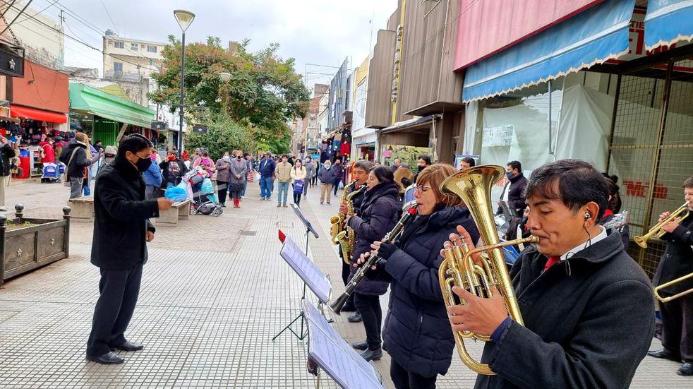 La banda municipal de Salta se presenta en distintas oportunidades durante julio